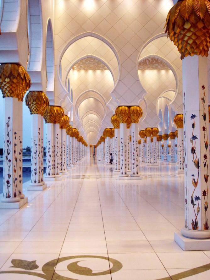 Sheikh Zayed Mosque Abu Dhabi 4