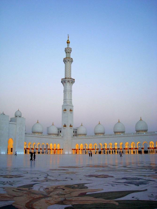 Sheikh Zayed Mosque Abu Dhabi 5