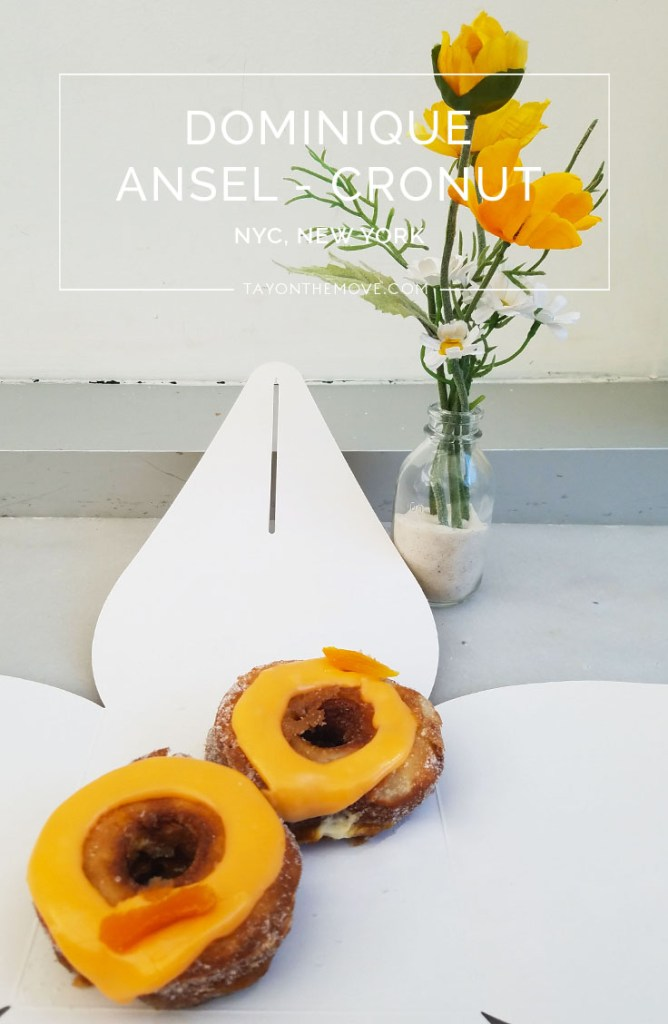 Dominique Ansel Bakery Cronut NYC 6
