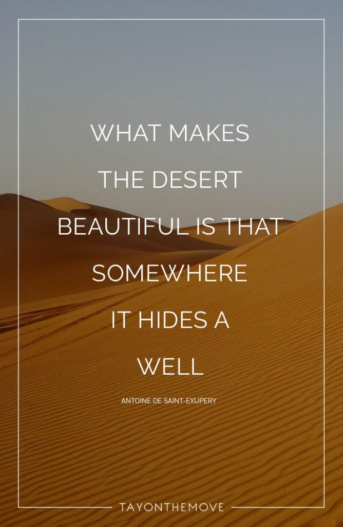 WHAT MAKES THE DESERT 2