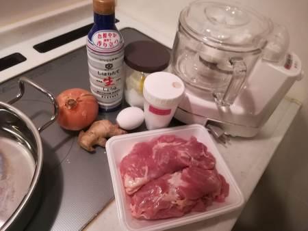 鶏だんご鍋材料