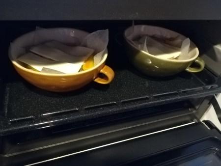 オーブンへ