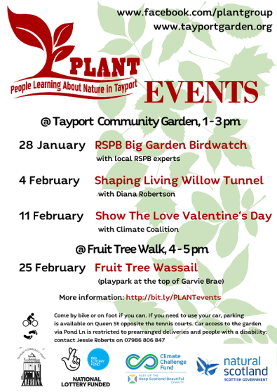 PLANT Events February 2018