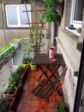Balcony growing space