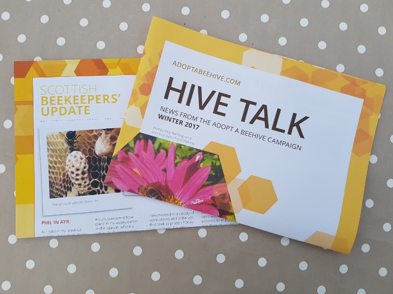 A photo of Adopt a Beehive Winter Newsletter 2017