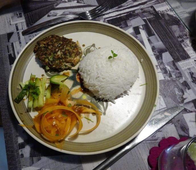 Vegetarian fritters