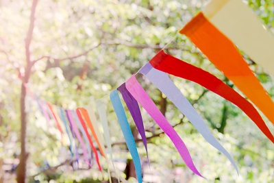 climate festival bunting