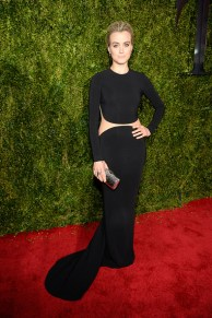 NEW YORK, NY - JUNE 07: Taylor Schilling attends the 2015 Tony Awards at Radio City Music Hall on June 7, 2015 in New York City. (Photo by Kevin Mazur/Getty Images for Tony Awards Productions)
