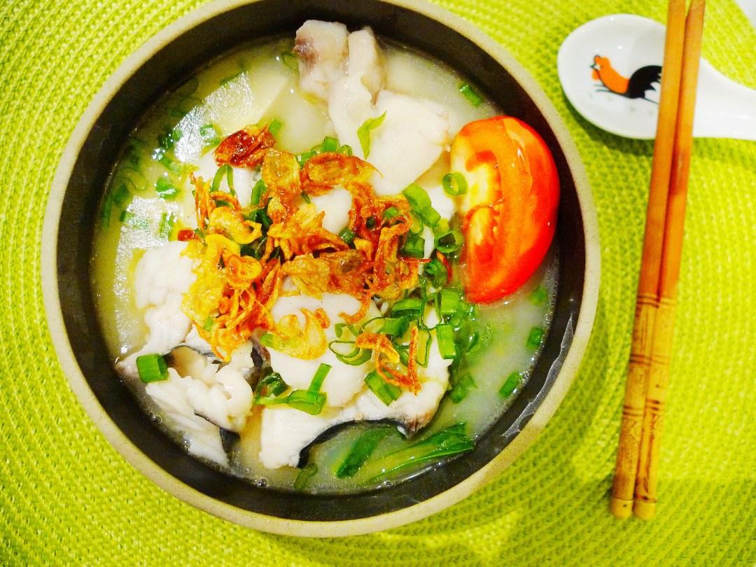 Creamy Collagen Fish Soup