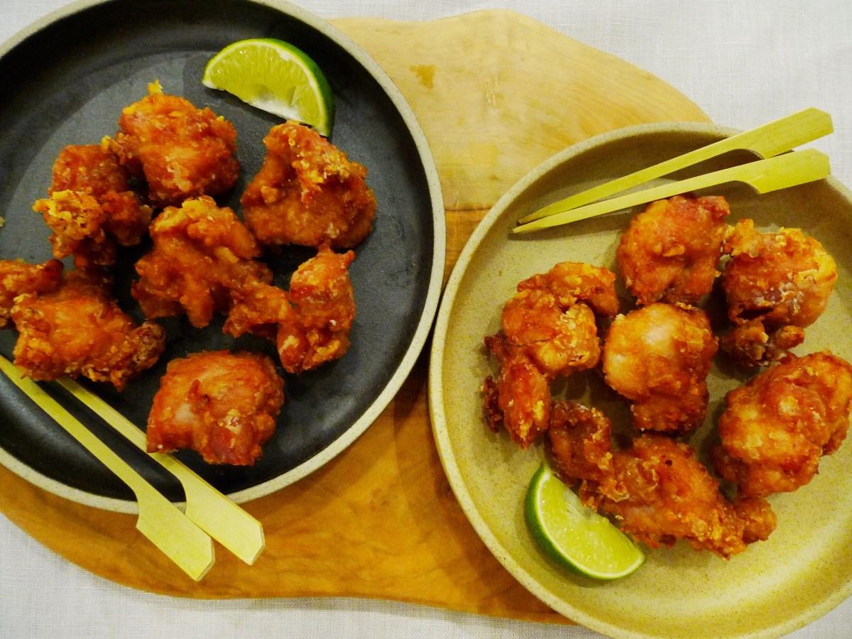 Heart Healthy Air Fried Chicken Chicken Karaage