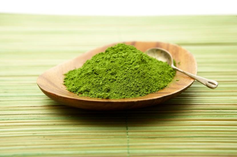 Matcha greent tea powder