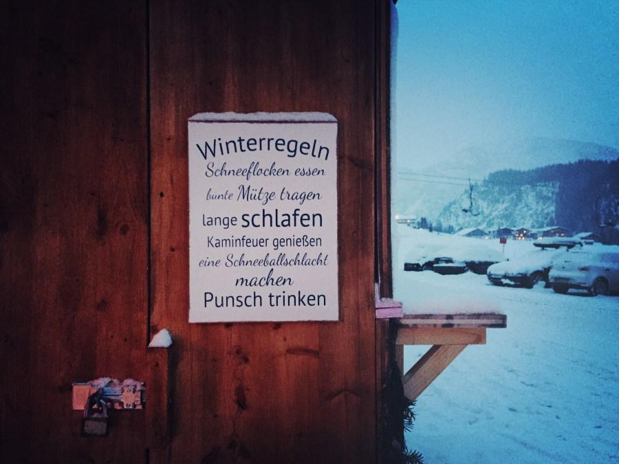 Winterregeln