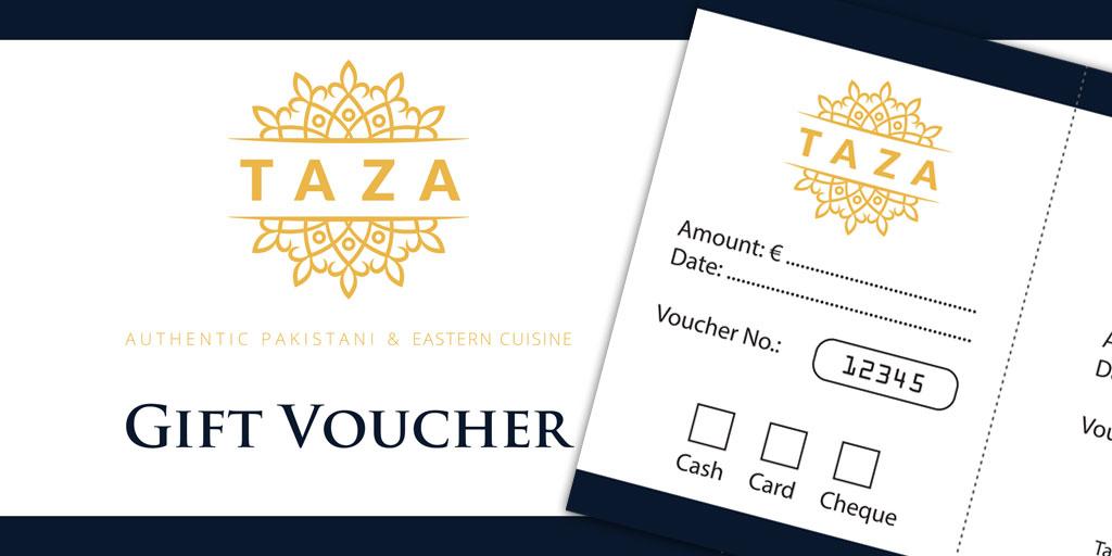 Gift Vouchers - Taza Restaurant