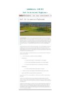 Golf, Un 1er tournoi à Taghazout