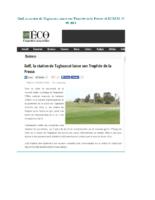 Golf, la station de Taghazout lance son Trophée de la Presse –LES ECO- 11 09 2014