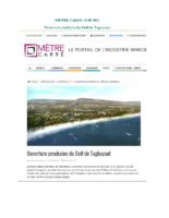 Metre Carre – Ouverture prochaine du Golf de Taghazout