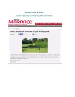 Station Taghazout – ouverture du golf de Tazegzout
