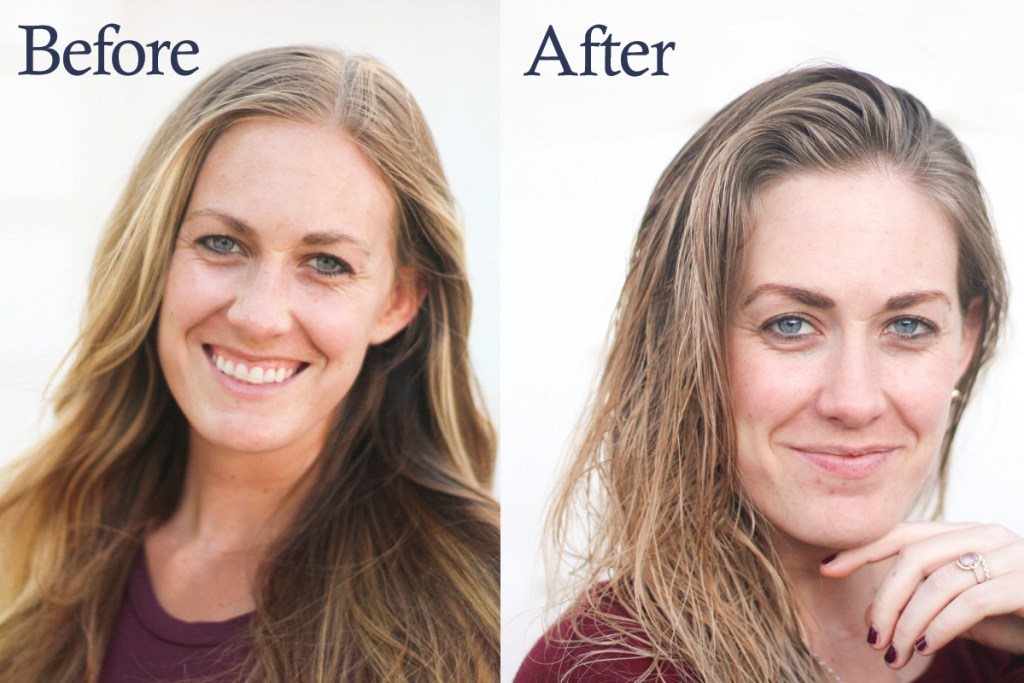 rodan and fields review, before and after