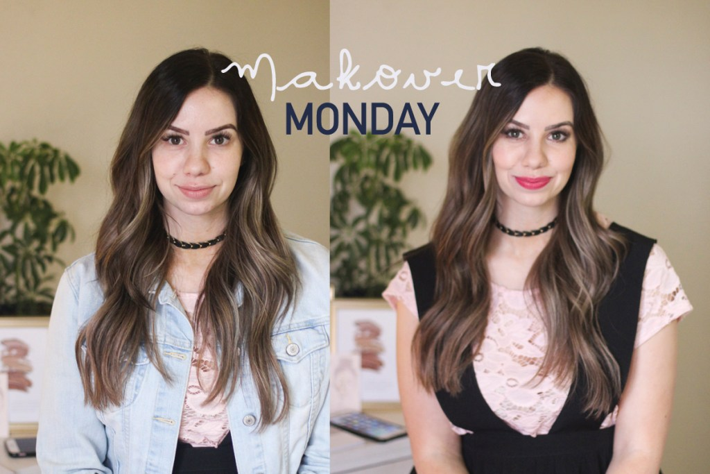 spring makeup ideas, makeover monday, maskcara beauty, before and after