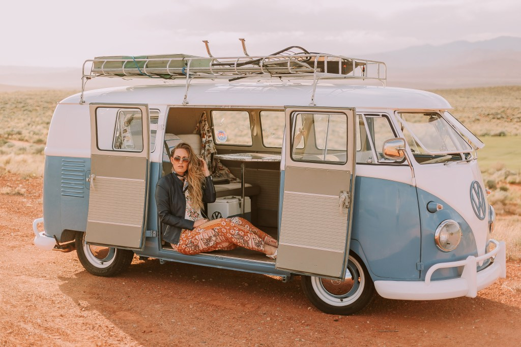 Summer Bucket List, vintage Volkswagen, boho outfit ideas