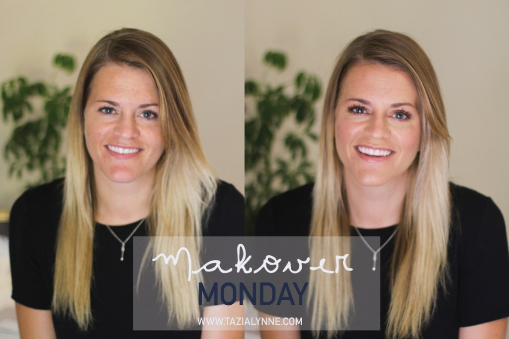 Highlighting and Contouring Tutorial, Maskcara Beauty, before & after