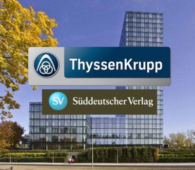Reparatur der Aufzugsanlagen Süddeutscher Verlag, München