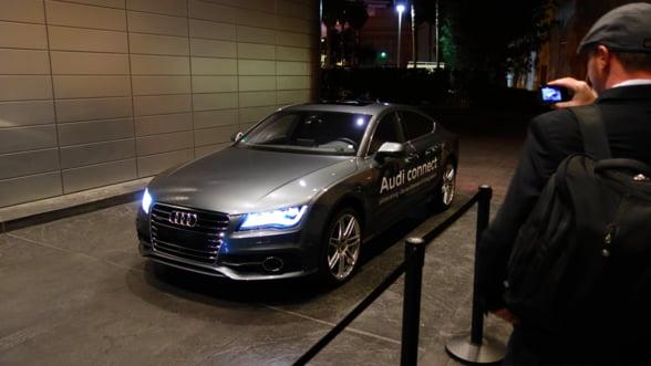 CES 2013: Audi prezinta masina viitorului, care se conduce singura