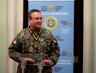 Generalul Ciuca nu mai este seful Armatei, dupa ce instanta a suspendat decretul lui Iohannis. Cine conduce acum Statul Major?
