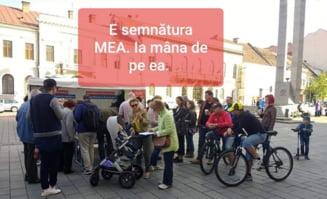 Protest dupa disparitia listelor Fara Penali: E semnatura MEA. Ia mana de pe ea!