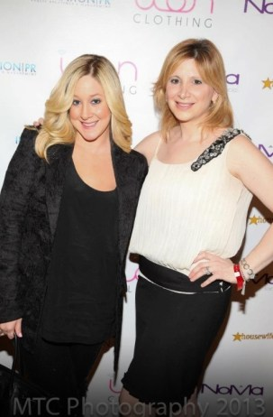 WIth Amy Poliakoff. Photo credit: MTC Photography