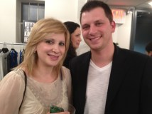 Tara with Albie Manzo