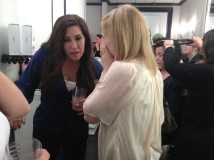 Jacqueline and Tara sharing secrets!