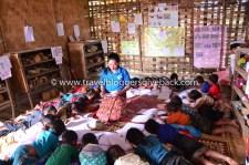 Summer pre-primary school course arranged in Bokeo Province (Northern Laos) to prepare ethnic children -- whose communities have no pre-school -- Lao language before attending grade 1 Kuva: Plan International