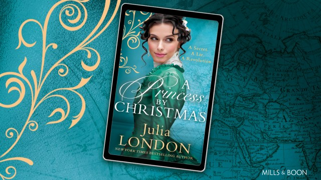 A Princess by Christmas by Julia London is the perfect book for a night in