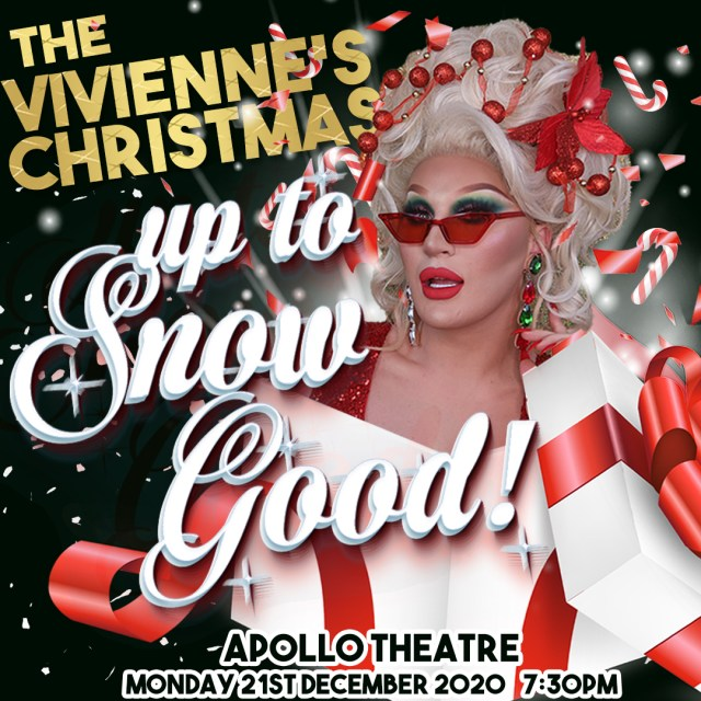 The Vivienne Announces the 'Up to Snow Good' Christmas show