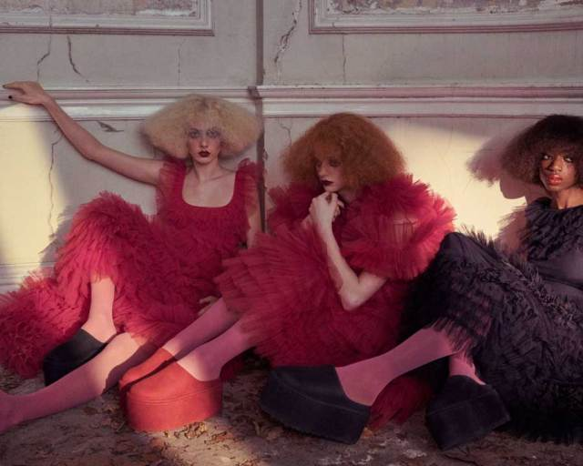 Molly Goddard collaborates with UGG to create an iconic new footwear collection