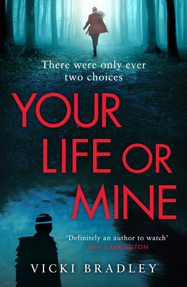 You will not be able to stop reading Your Life or Mine by Vicki Bradley