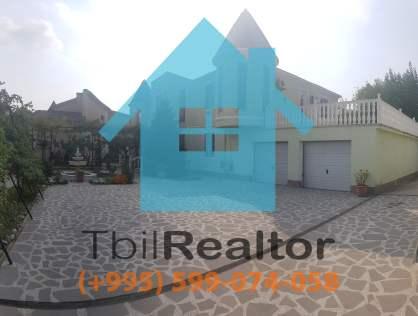 Сдается в долгосрочную аренду 6 комнатный 2 этажный дом с бассейном в Тбилиси Диди Дигоми