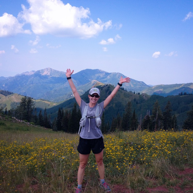 My very first high altitude run in 2011. On the continental divide above King Lake.