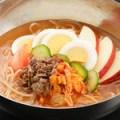 韓国風さつま芋冷麺