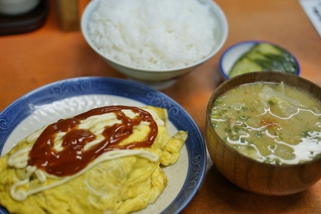 味寿食堂のラーメン
