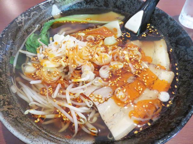 肖記麺館のラーメン
