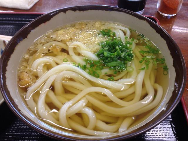 根っこ 三谷店 かけうどん(小) 190円