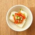 チャンジャと生の美豆腐