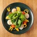 ホタテとオレンジの お刺身サラダ