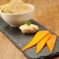 ミモレットチーズとみそクリームチーズ
