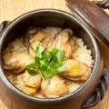 土鍋牡蠣めし (一人前~二人前)