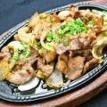 牛バラと玉ねぎの味噌炒め