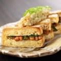 栃尾の油揚げ納豆のはさみ焼き~サクサク、ふわふわ一度食べたらやみつきの旨さ!~