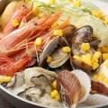 海鮮とんこつミルク鍋(一人前)